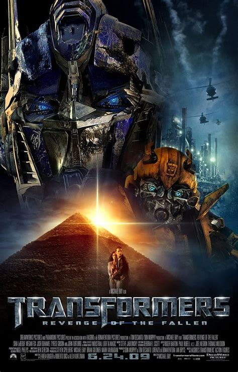 Transformers: Revenge of the Fallen Movie Poster (#6 of 9