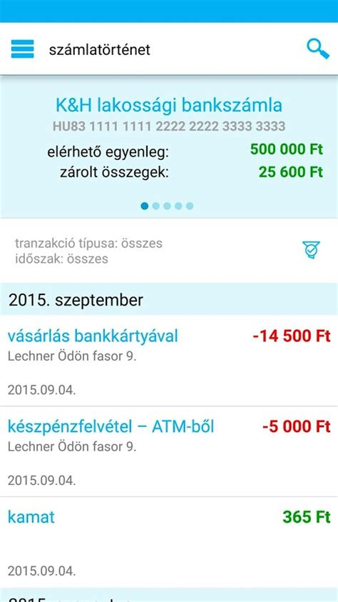 K&H mobilbank - Android Apps on Google Play