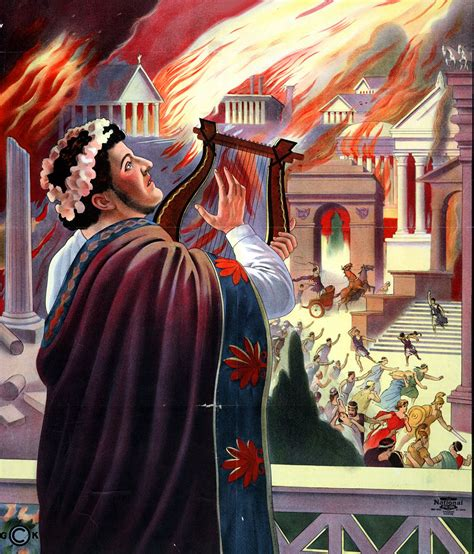 Emperor Nero and the burning of Rome | Historical memes