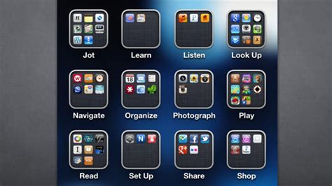 Organize Your Apps by Action Instead of Category for a