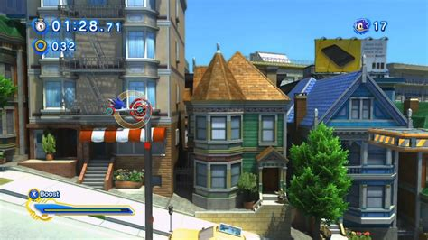 Sonic Generations (PC): City Escape - Modern - Board Only