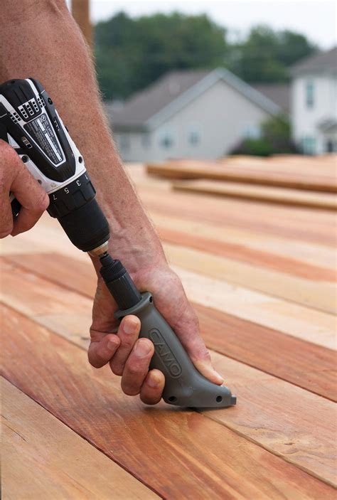 UFPI to Distribute CAMO® Hidden Deck Fastening System for