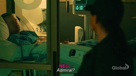 Callen in a Naval Hospital With serious injuries