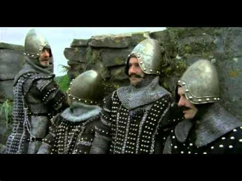 The Monty Python and Holy Grail, The English meet the