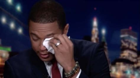 Don Lemon cries while discussing Chris Cuomo's COVID-19