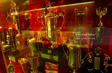 England - Liverpool - Trophy room at Anfield, Liverpool FC