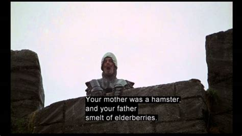 clip8 The French Taunting -Monty Python and the Holy Grail