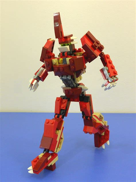 Alanyuppie's LEGO Transformers: Instructions for LEGO 6914