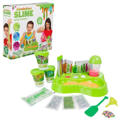 Nickelodeon Slime Station Game w 10x Instant Slime Mixer