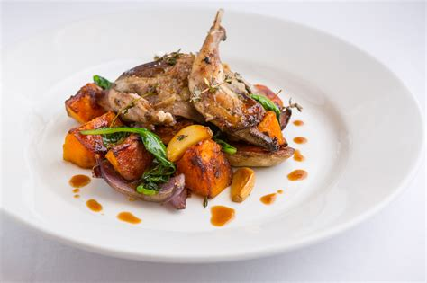 Neil Forbes recipe: Roast grouse with squash, red onion