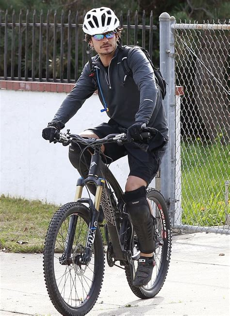 Orlando Bloom looked like he was prepared for a serious