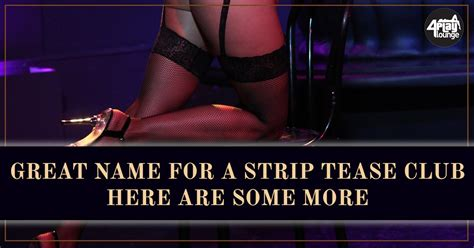 4Play Lounge - Great Name For A Strip Tease Club - Here